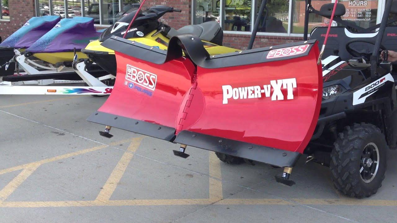 Polaris Ranger Lift Amp Carry Boss V Plow