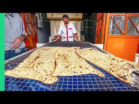 SURPRISING Iranian Food in Tehran!!! Serving Over 6,000 People a Day!!!