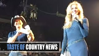 Tim McGraw, Faith Hill Help Pregnant Couple In New Orleans