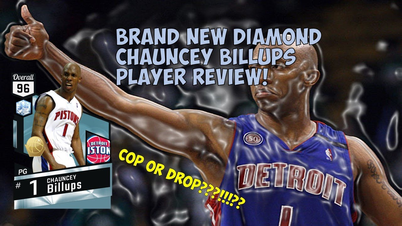 NEW DIAMOND CHAUNCEY BILLUPS Cop Drop Player Review NBA