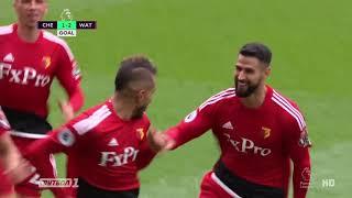 Челси — Уотфорд. Обзор матча. 4:2. 21.10.2017