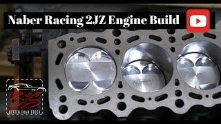 Naber Racing Supra 2JZ engine build - Part 1 (4k)
