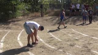 День физической культуры и спорта. Лёгкая атлетика(толкание ядра) юноши