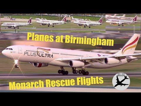 Plane Spotting at Birmingham Airport | 02/10/17