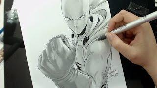 Speed Drawing - Saitama (ONE PUNCH MAN)