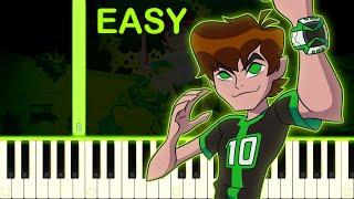 BEN 10 OMNIVERSE - EASY Piano Tutorial