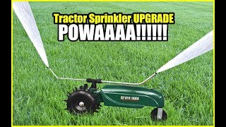 Tractor Sprinkler Upgrade - Never Done Vlog