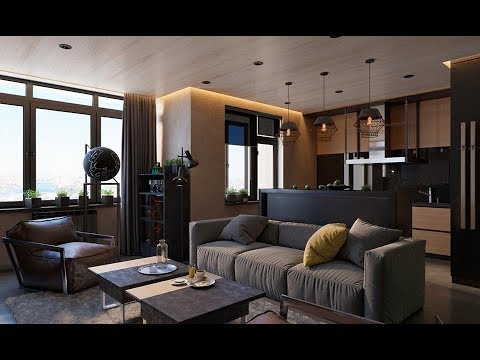 Superieur 3 Living Spaces With Dark And Decadent Black Interiors