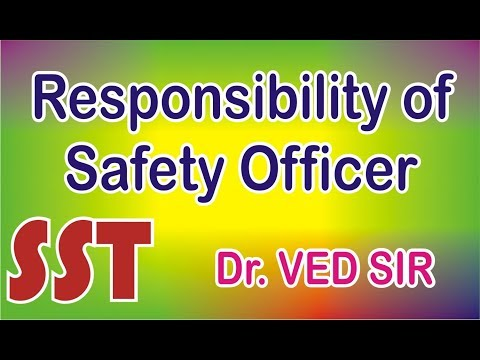 Duty and Responsibilities of Safety Officers | Safety Course