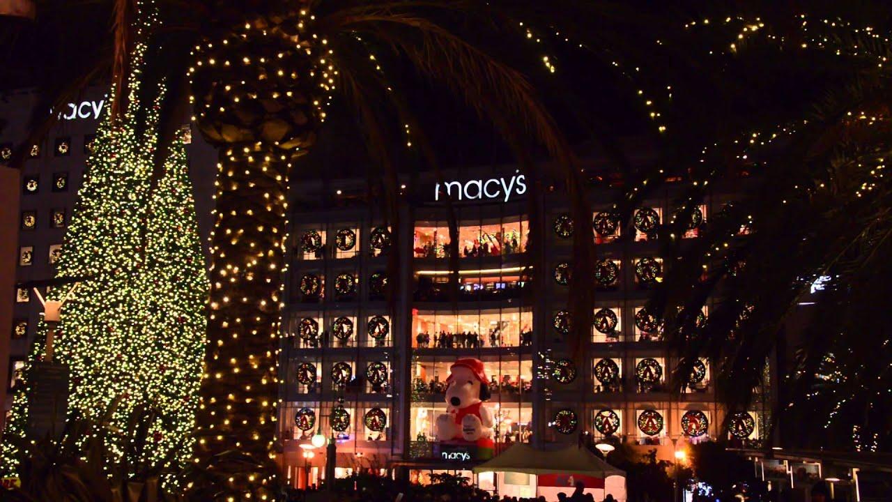 2015 Union Square Xmas Tree Lighting - YouTube