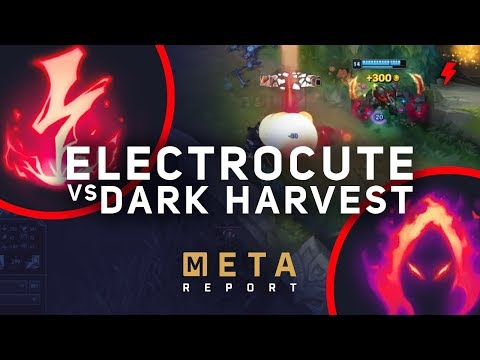 8.16 - 8.17 Meta Report: Dark Harvest vs Electrocute - Which is better for junglers