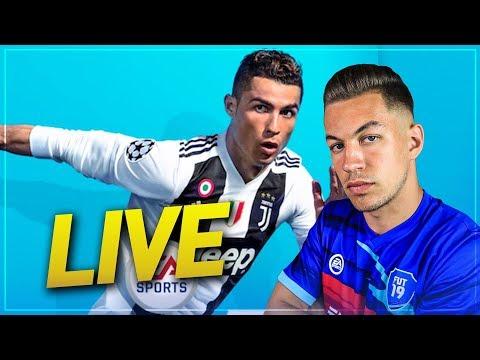 LIVE FIFA 19 - ON CRÉE L'EQUIPE POUR DIVISION RIVALS