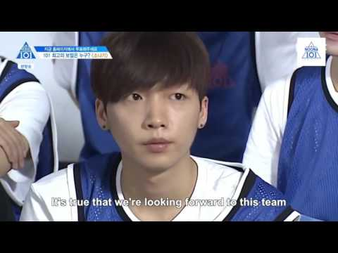 [engsub] (Produce 101/ss2/ep7) Downpour team (2/4)
