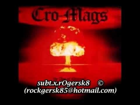 Cro-Mags Survival Of The Streets (subtitulado español)