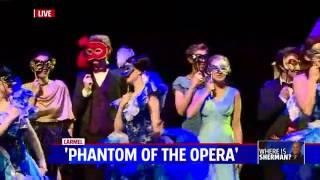 Shawn and the Carmel Phantom of the Opera on Fox New 59