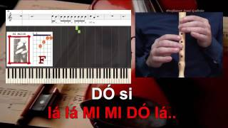 Don't let me down The Chainsmokers Notas para Flauta Jose Galvao