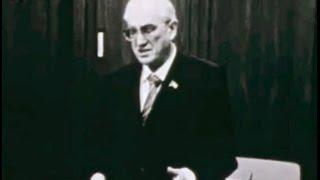 Чекисты проводили Председателя КГБ СССР Андропова на работу в ЦК КПСС, май,1982, служебная хроника