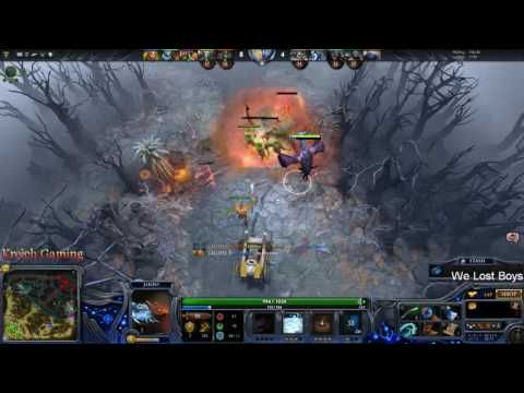 Dota 2 - toxic nature prophet. feed and reported.