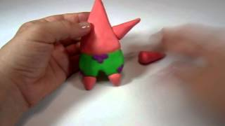 How To Make Patrick With Play Doh Tutorial Video