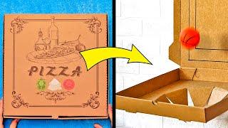 상자를 이용한 37가지 간단하고 천재적인 팁
