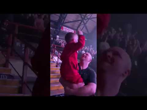 Big Rig - 5 Year Old Air Drumming At Slipknot Show Gets Bands Attention
