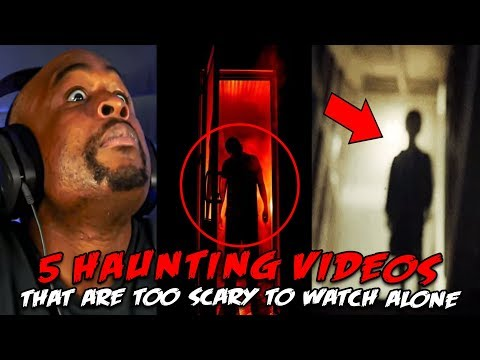 5 Haunting Videos That Are TOO Scary To Watch ALONE REACTION!