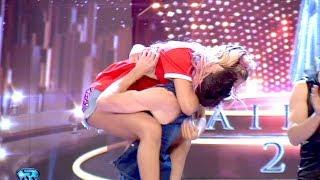 ¡Flor Vigna y Gonzalo Gerber lograron entrar en la semifinal de Bailando 2017!