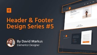 Header & Footer Design #5: Photography Website