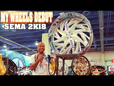 MY RIMS DEBUT AT SEMA SHOW THIS IS UNBELIEVABLE
