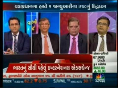 Niranjan Hiranandani on Launch of IFSC tower Signature,GIFT SEZ -CNBC Bajar