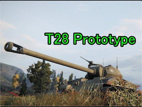 【WOT】おっさんの戦車道 ゆっくり実況Part122 T28 Prototype
