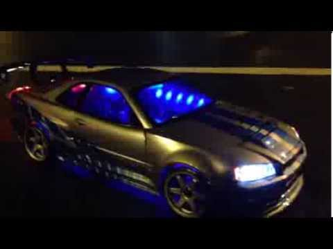 Paul Walker Custom Nissan Skyline Rc Car From Fast Furious
