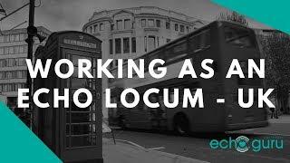 Working as echo locum in UK