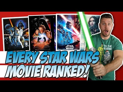 All 12 Star Wars Movies Ranked (w/ Rise Of Skywalker)