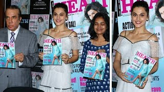 Taapsee Pannu Unveils The Latest Issue Of Health & Nutrition Magazine