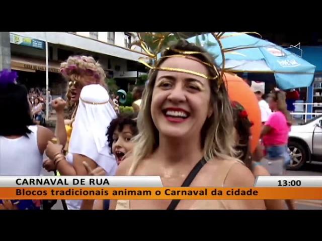 JL - Blocos tradicionais animam o Carnaval da cidade