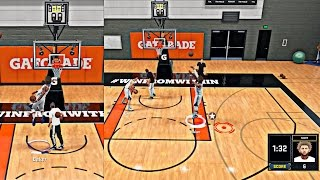 NBA 2K16 MyCAREER - Live Practice #5 Cam Plays H-O-R-S-E With His Teammates And 360