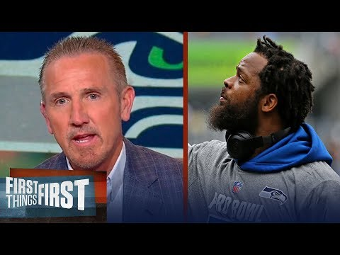 Steve Spagnuolo on Michael Bennett taking shots at Seattle's Russell Wilson   FIRST THINGS FIRST