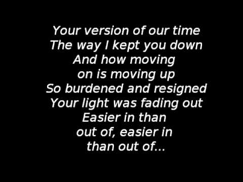 Wovenwar - Moving Up (Lyrics)