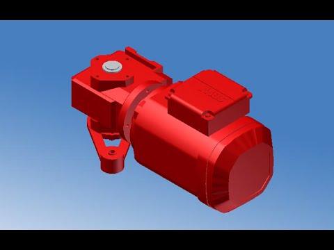 Sew-eurodrive products: ac motor dt/dv series.