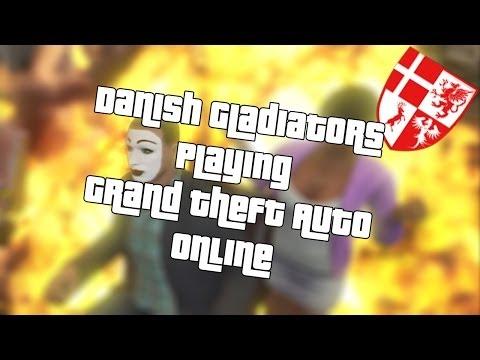 Danish Gladiators Playing Grand Theft Auto Online Part 18 (Danish)