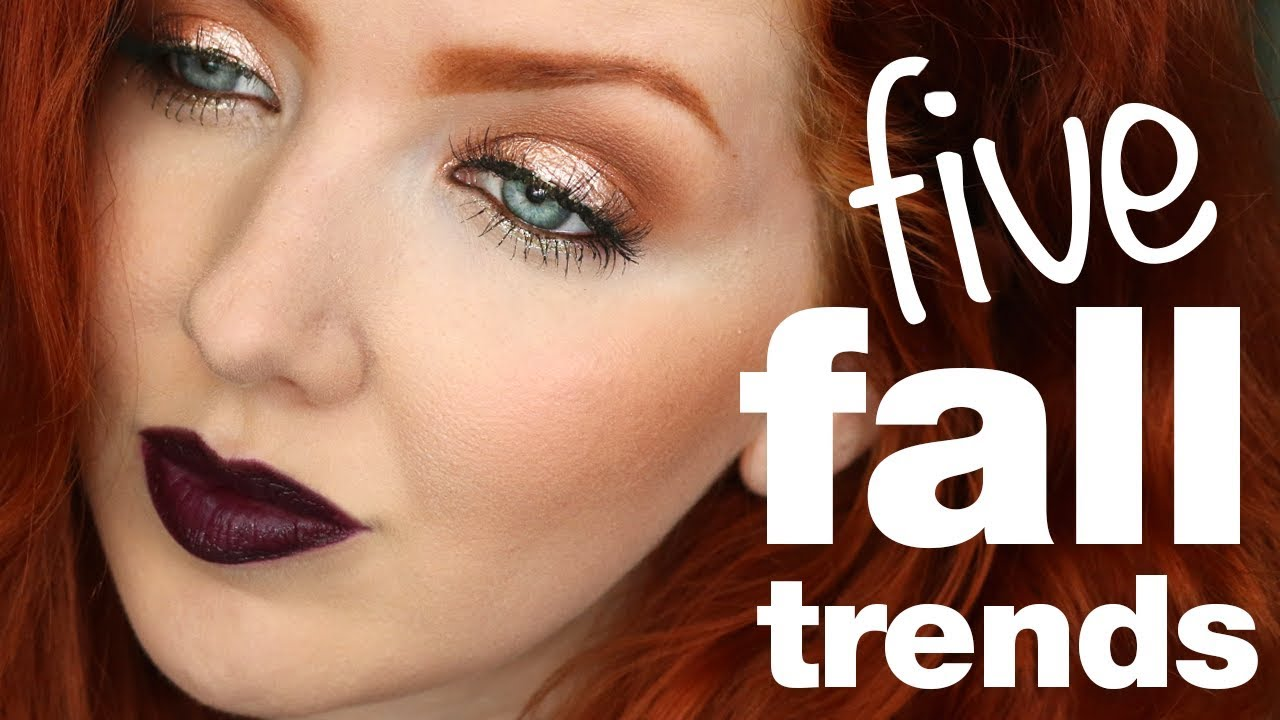 to wear - Makeup fall trends video
