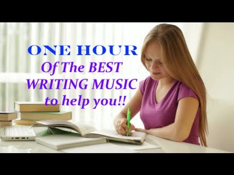 ONE Hour of Amazing Music to help with Writing, Poetry, Focusing, & Being your Amazing self!