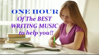 ONE Hour of Amazing Music to help with Writing, Poetry, Focusing, u0026 Being your Amazing self!