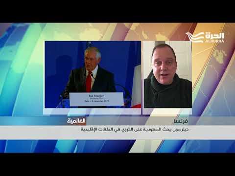 عبر شبكة السكايب من واشنطن اندرو تابلر حول تصريحات تيلرسون عن السياسات السعودية  - 21:21-2017 / 12 / 8