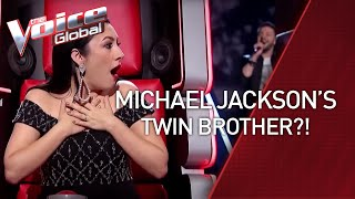 Michael Jackson's sound-a-like SHOCKS the coaches | ROAD TO #1