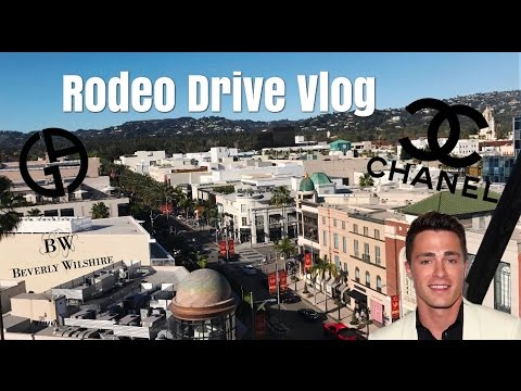 Getting kicked out of the Beverly Wilshire Hotel ft. Colton Haynes