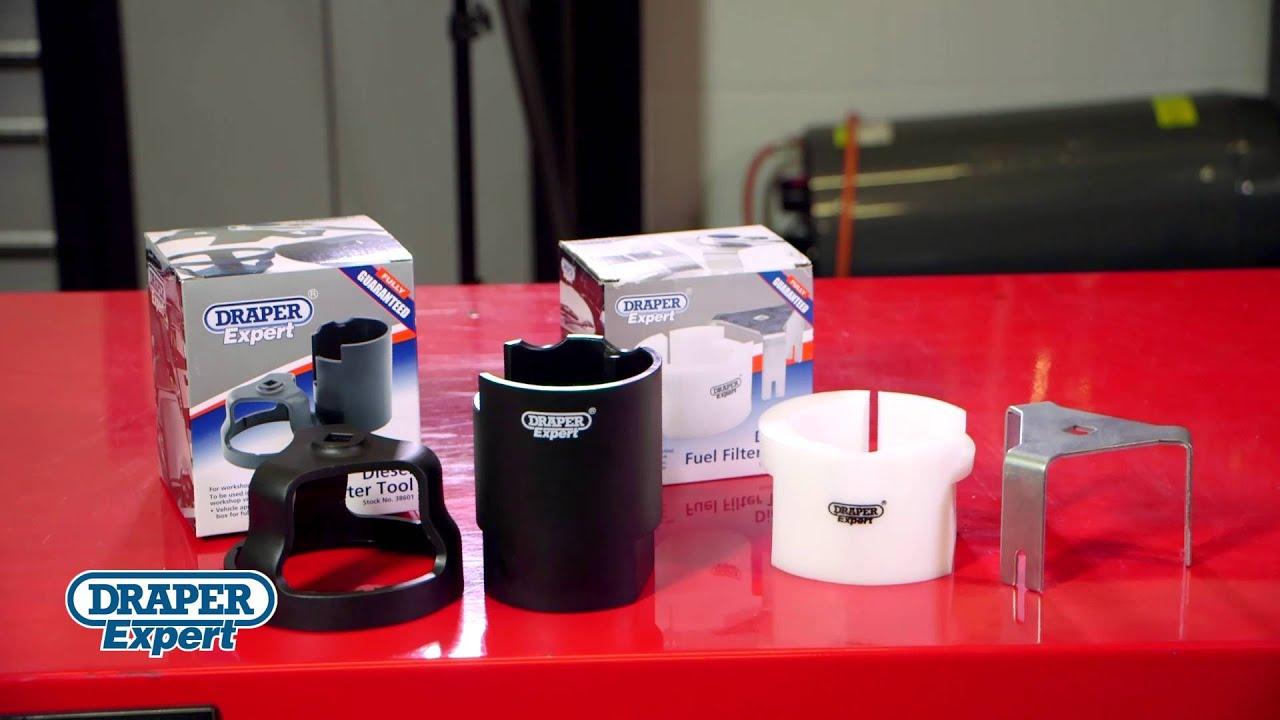hight resolution of 2 piece diesel fuel filter tools 43619 38601