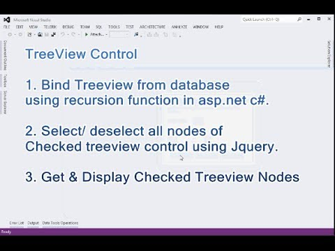 How to Bind Treeview from database using recursion function