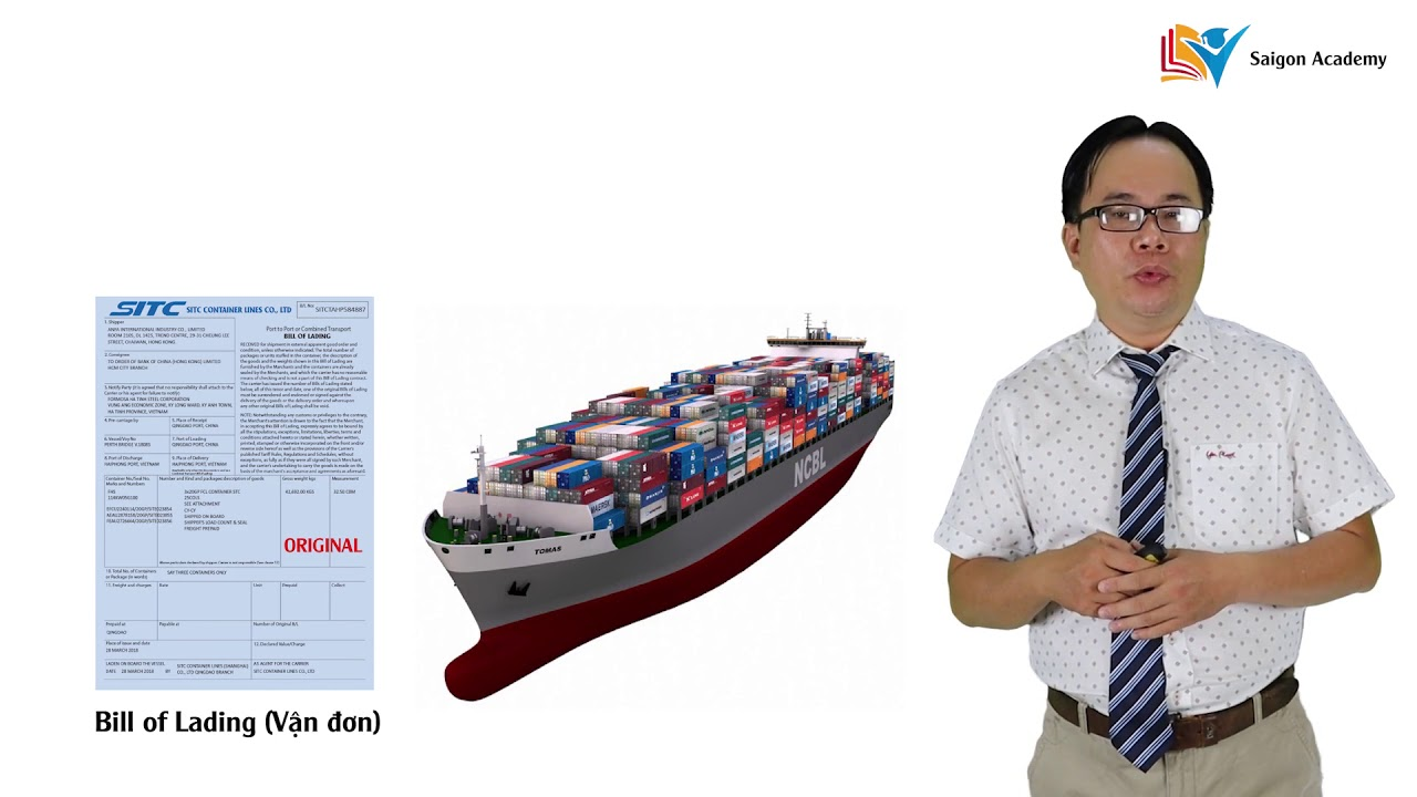 Tìm hiểu về vận đơn đường biển (Bill of Lading)